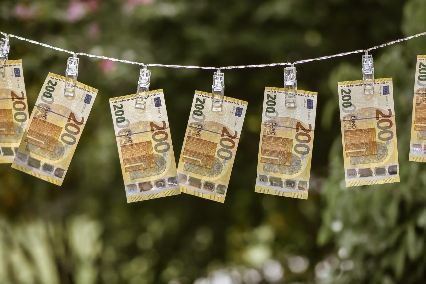 Euros on pegs ARF